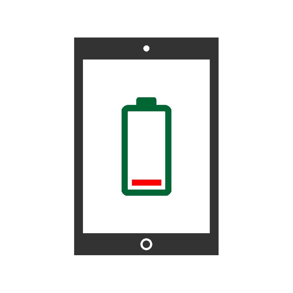 Batteribyte mobil enhet