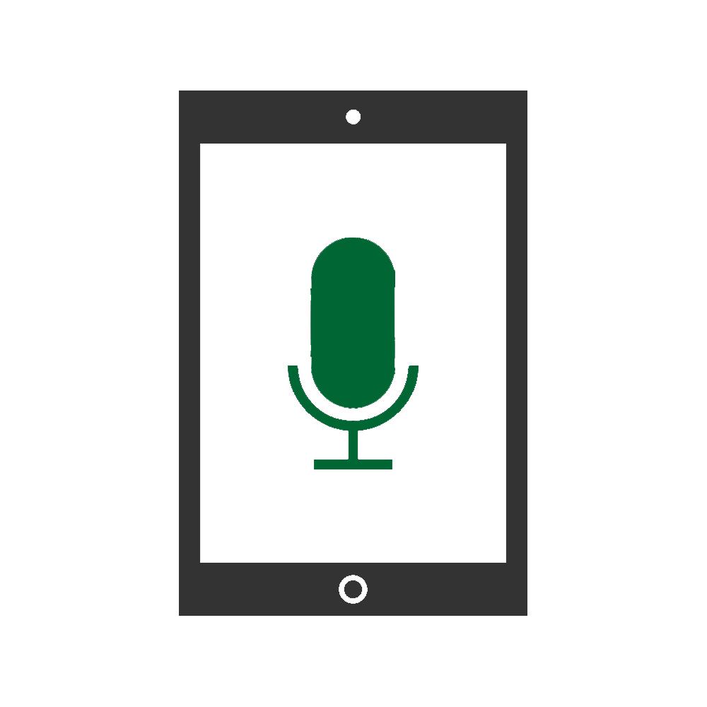 Mikrofonbyte mobil enhet