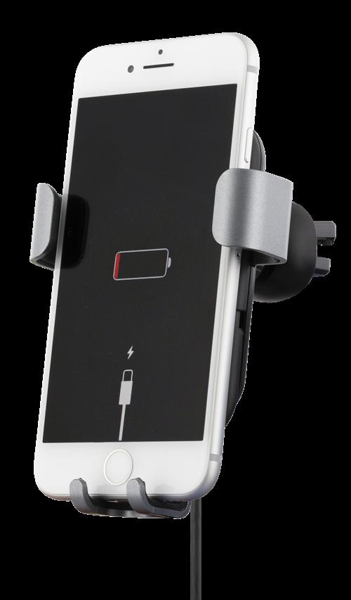 Sign Mobilhållare för Bilen med Trådlös Laddning, 10W