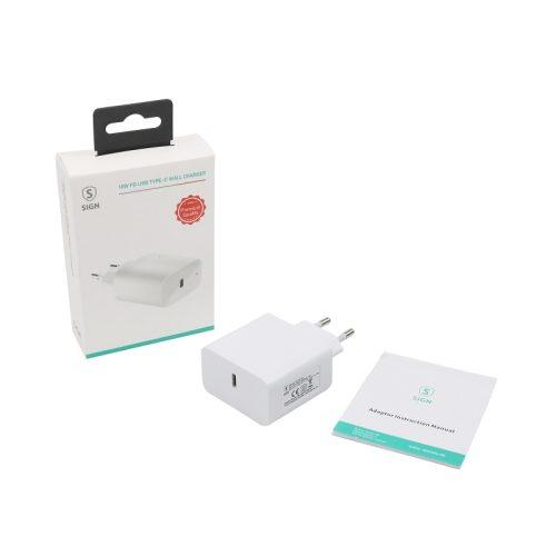 Väggladdare, USB-C