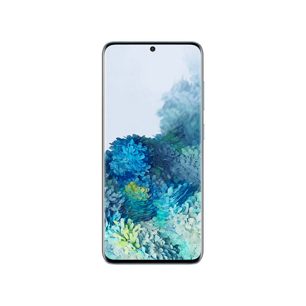 Samsung Galaxy S20 Blå Fram