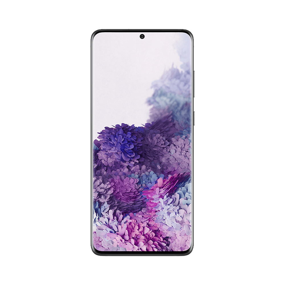 Samsung Galaxy S20+ Svart Fram